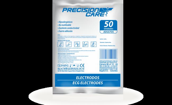 Electrodos Ecg Electrodes Adulto