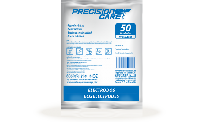 Electrodos Ecg Electrodes Neonatal