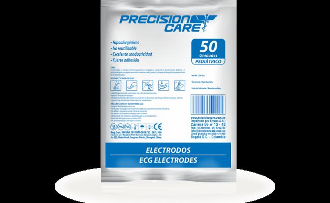 Electrodos Ecg Electrodes Pediátrico